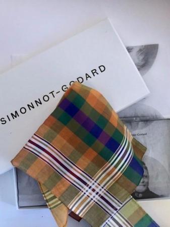 The essentials » Madras red pocket handkerchief