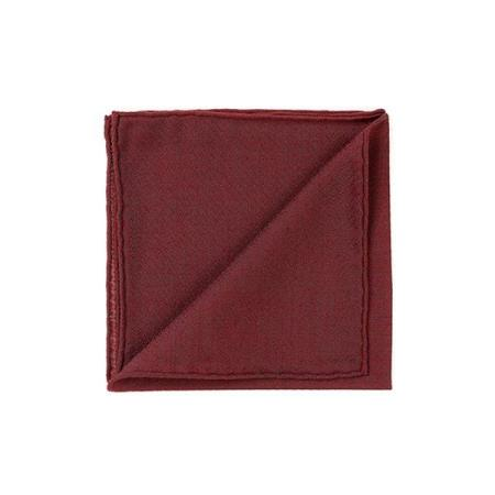Cashmere » Red pocket handkerchief